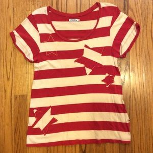Johnnie B Boden Star knit T shirt tee small